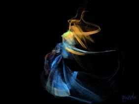 28082008 Apophysis Blue Dress Dance