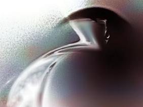 creepy christmas bulb - Apophysis, nachbearbeitet