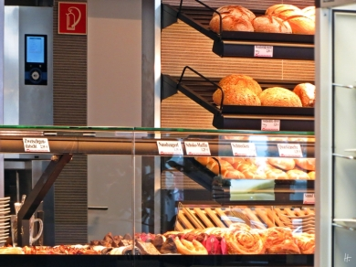 Brote und Kuchen
