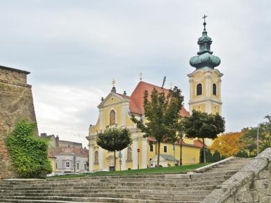 Die Karmeliterkirche am Wienertor-Platz