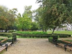 Der kleine Park auf dem Kálóczy tér