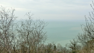2014-02-23 Ausflug zum Balaton CIMG1940 Balaton auf Tihany