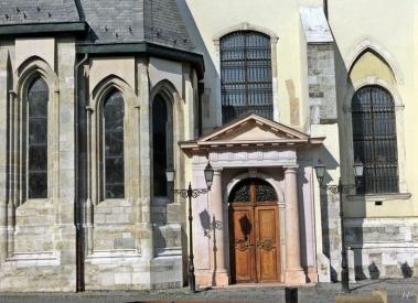 2014-02-24 Györ CIMG2060 Basilika mit Kapelle Héderváry