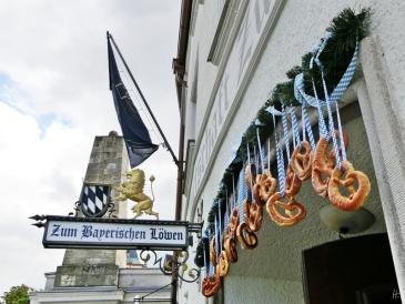 2014-08-12 Straubing 458 BayerischerLöwe Ludwigsplatz-Rosengasse