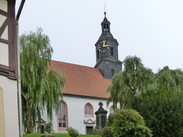 2014-08-13 Floh-Seligenthal (Thüringen ) 03 Floh Kirche