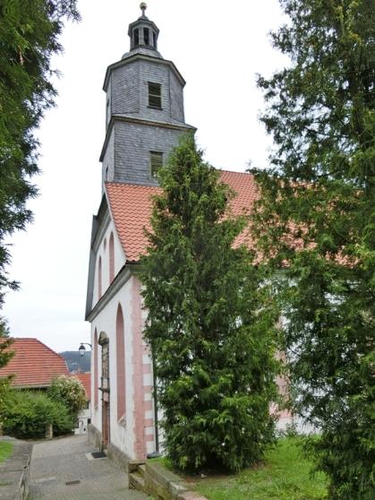 2014-08-13 Floh-Seligenthal (Thüringen ) 33 Floh Kirche