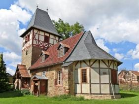 2014-08-14 Dittichenrode am Südharz Kirche St. Annen und Marien