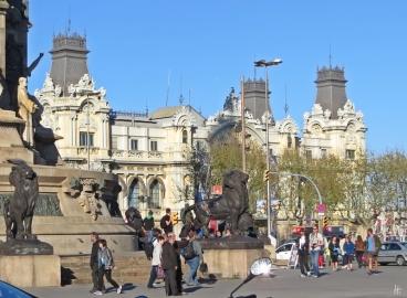 2015-04-09 Barcelona IMG_1864 Plaça del Portal de la Pau