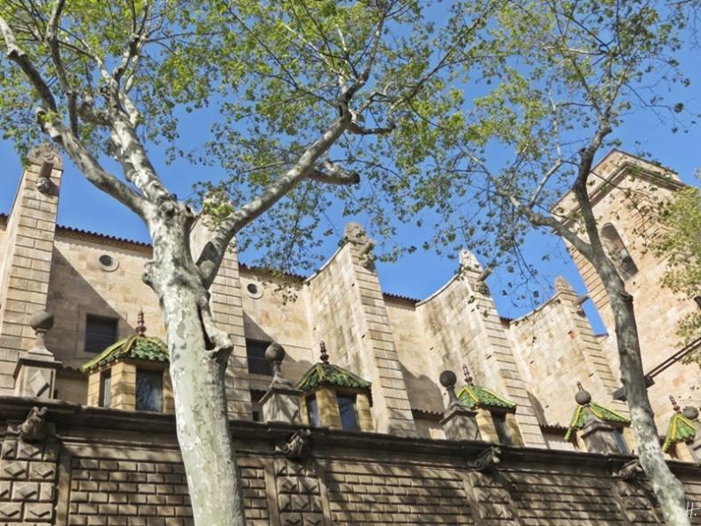 2015-04-10 Barcelona IMG_1980 La Rambla Kirche