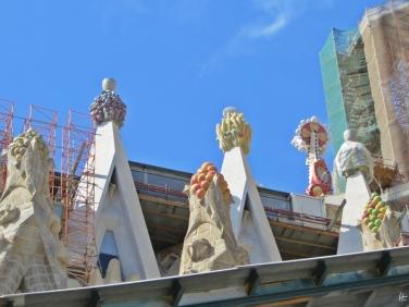 2015-04-10 Barcelona IMG_2068 La Sagrada Familia Baustelle