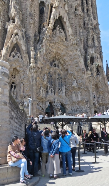 2015-04-10 Barcelona IMG_2074 La Sagrada Familia Eingangsbereich