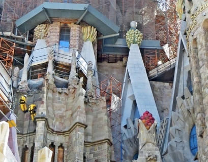 2015-04-10 Barcelona IMG_2084 La Sagrada Familia Sandstrahlarbeiten