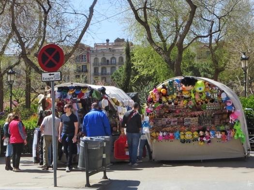 2015-04-10 Barcelona IMG_2087 La Sagrada Familia-Souvenirstände