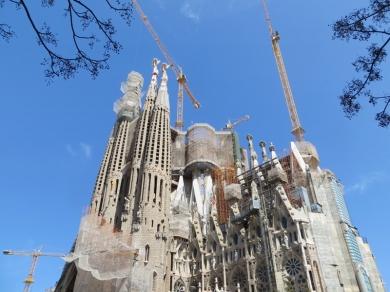 2015-04-10 Barcelona IMG_2107 La Sagrada Familia-Park+Baustelle