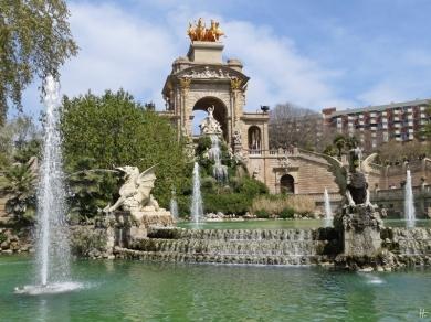 2015-04-11 Barcelona IMG_2359 13h01 Parc de la Ciutadella - Cascada