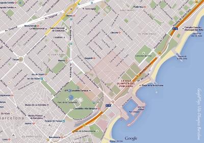 GoogleMaps Vila Olímpica