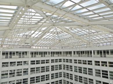 2015-07-28 BERLIN-Tage 196 Mandala im 8. Stock