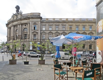 2015-07-28 BERLIN-Tage 202S Museum für Kommunikation Berlin Leipziger Str Ecke Mauerstrasse