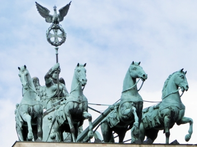 2015-07-28 BERLIN-Tage 245 Brandenburger Tor Quadriga