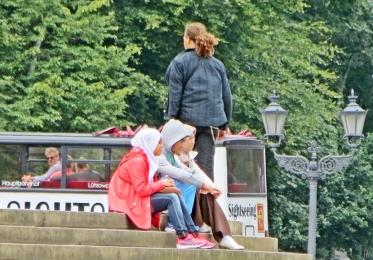 2015-07-28 BERLIN-Tage 271 Tiergarten Grosser Stern Siegessäule 'Sightseeing'