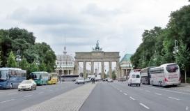 2015-07-28 BERLIN-Tage 276 Strasse des 17. Juni + Brandenburger Tor