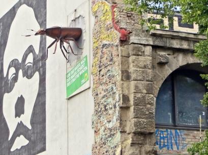 2015-07-28 BERLIN-Tage 426 Mitte Oranienburgerstrasse Kunsthaus Tacheles
