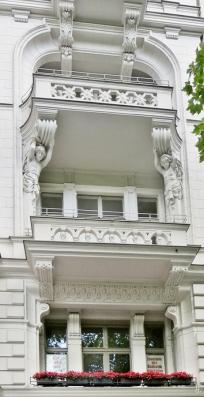 2015-07-29 BERLIN-Tage 524S Kurfürstendamm-Uhlandstrasse Balkone