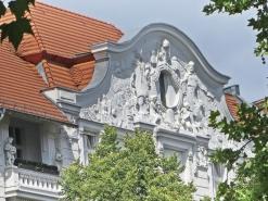 2015-07-29 BERLIN-Tage 578 Kurfürstendamm Giebel 'Arbeit+Segen'