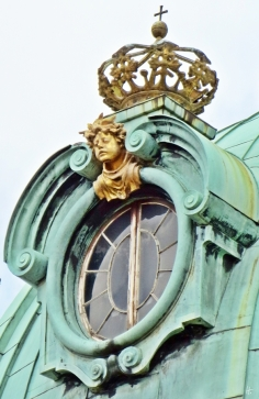 2015-07-30 BERLIN-Tage 694 Charlottenburg Schloss Charlottenburg Krone