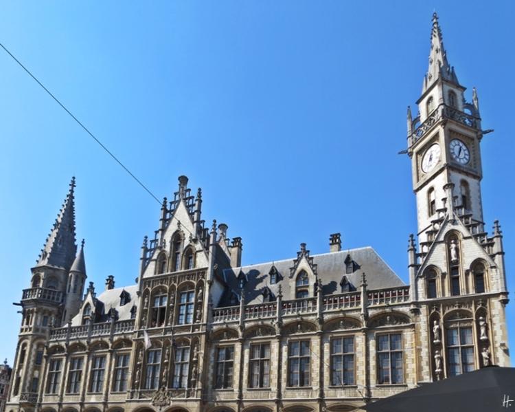 2015-08-22 2_Gent_10 Historischer Stadtkern (10) Korenmarkt Altes Post-und Telegrafenamt