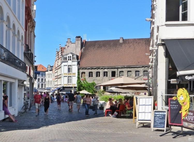 2015-08-22 2_Gent_10 Historischer Stadtkern (7A) Hooiaard+Pensmarkt+Vleeshuis
