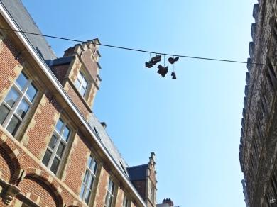 2015-08-22 2_Gent_15 Biezekapelstraat-Nederpolder (5) Nederpolder Kunstquartier-Schuhe