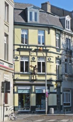 2015-08-22 2_Gent_6 Sint-Michielsstraat (8) Ingelandgat+Sint-Michielsstraat_2 Schrott-Gladiator