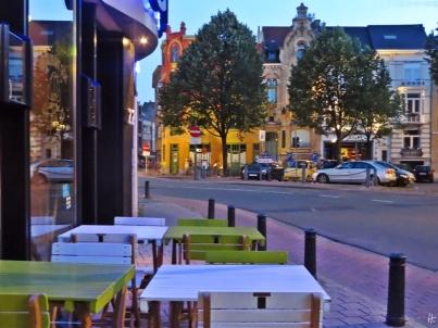2015-08-22 2_Gent_21 nach dem Abendessen 21h15 (2) Restaurant Sluizeken_Sluizekenkaai-Oudburg