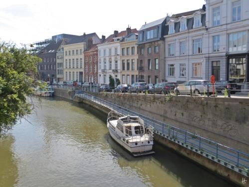 2015-08-23 3_Gent_7 Walpoortbrug (6) Grote Huidevettershoek-Ketelvest