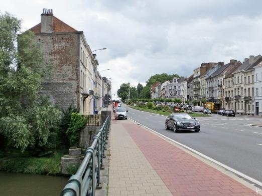 2015-08-25 5_Gent_4 Stadtring-Citadelpark (2) Leiebrug-Ijzerlaan