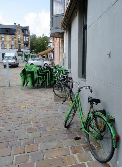 2015-08-25 5_Gent_5 vom Kunstmuseum bis zum Kramersplein (12) Kramersplein+Fahrräder