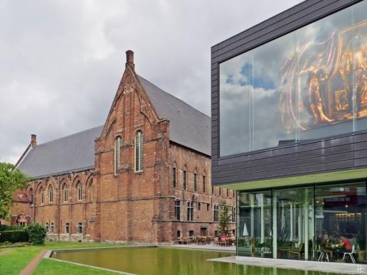 2015-08-25 Reisetag_5 Gent_3 (11) Abtei+neues Gebäude des Stadsmuseums Gent STAM