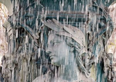 2016-03-30 Lissabon (Portugal) Tag 2-18 (17A) Brunnenfigur Praça Dom Pedro IV