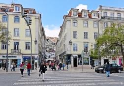 2016-03-30 Lissabon (Portugal) Tag 2-18 (22) Praça Dom Pedro IV+Calçada do Carmo