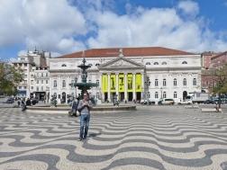 2016-03-30 Lissabon (Portugal) Tag 2-18 (29) Praça Dom Pedro IV +Brunnen+Theater