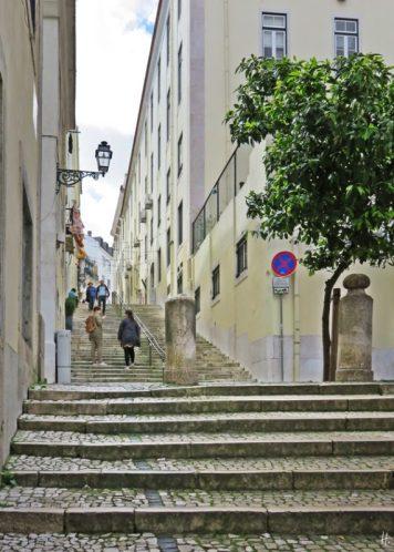 2016-03-30 Lissabon (Portugal) Tag 2-19 treppauf ins Bairro Alto (12) Calçada do Duque
