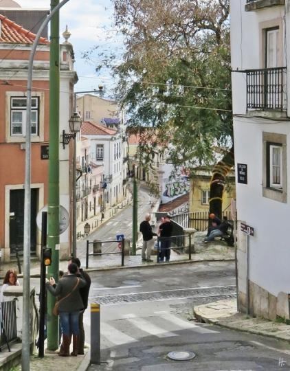 2016-03-30 Lissabon (Portugal) Tag 2 (1A) Calçada do Menino de Deus + Rua São Tomé + Escolas Gerais