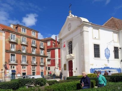 2016-03-30 Lissabon (Portugal) Tag 2-8 Jardim Júlio Castilho (10) Igreja de Santa Luzia