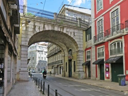 2016-03-31 Lissabon (Portugal) Tag 3-32 (13) Rua de São Paulo+Arco da Rua do Alecrim