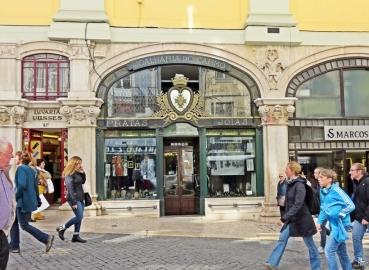 2016-03-31 Lissabon (Portugal) Tag 3-36 Rua do Carmo (15) Joalharia do Carmo