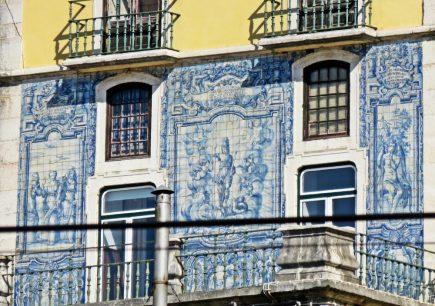 2016-04-01 Lissabon (Portugal) Tag 4-3 Palácio de Óbidos-Sabugal (2) Azulejos