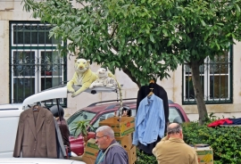 2016-04-02 Lissabon (Portugal) Tag 5-1 Feira da Ladra - Flohmarkt (40) Plüschtiger