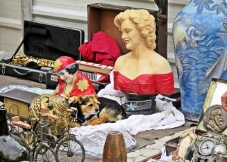 2016-04-02 Lissabon (Portugal) Tag 5-1 Feira da Ladra - Flohmarkt (45) Saxophon