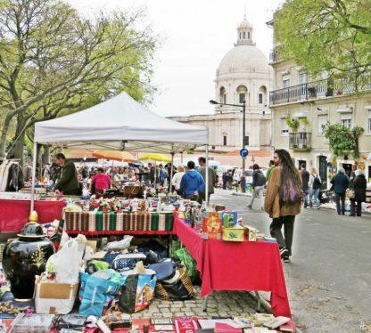 2016-04-02 Lissabon (Portugal) Tag 5-1 Feira da Ladra - Flohmarkt (4A)